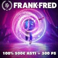 frankfred casino uudistunut - 100% bonus