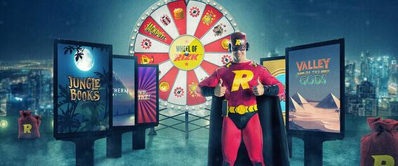 Rizk casinon kampanja banneri