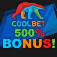 Coolbet Casinon 500% bonus