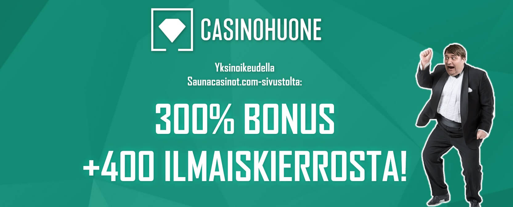 casinohuone banneri - talletusbonus