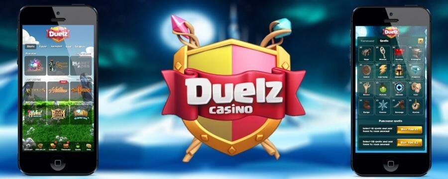 Duelz casino mobiili