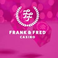 Frank&Fred Casinon pinkki logo
