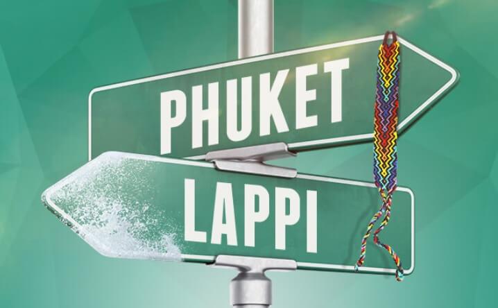 Casinohuoneella kampanja -voita matka Phuketiin tai Lappiin