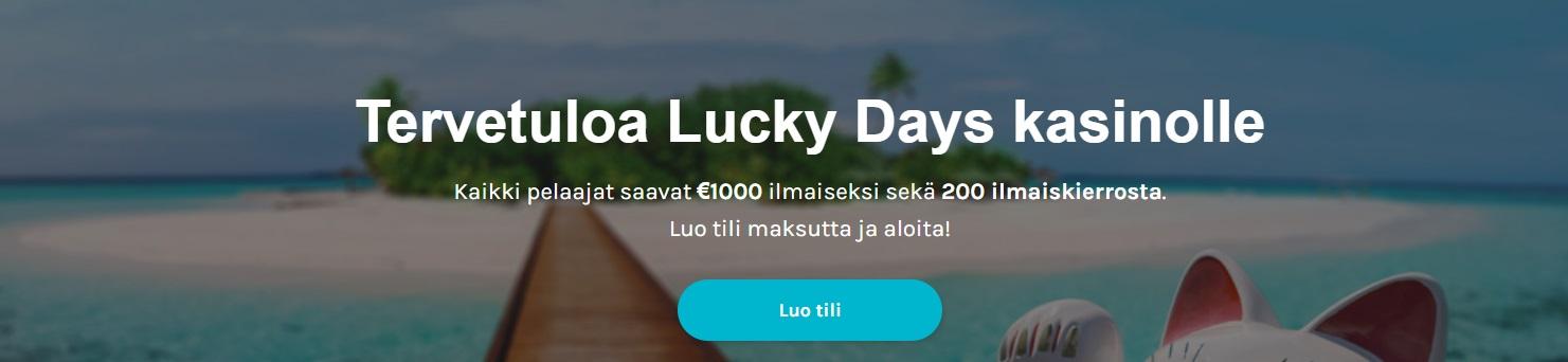 luckydayscasinobonus
