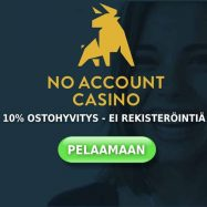 No Account Casinon 10% cashback