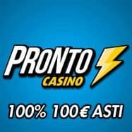 Pronto casino bonus 100%
