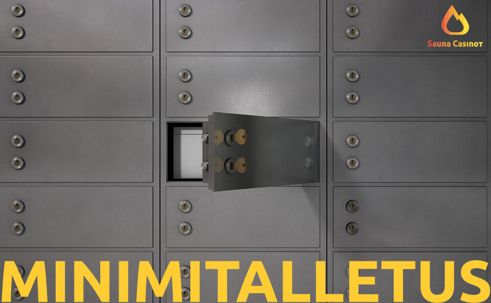 minimitalletus 5e - talletuslokerot