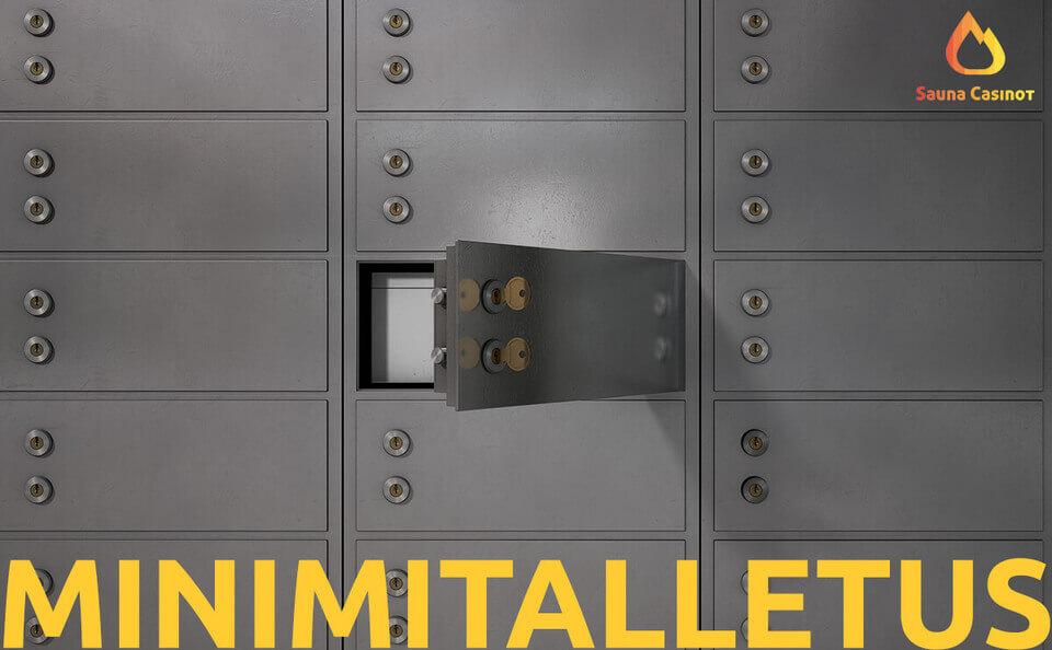 minimitalletus kasinolla - saunacasinot.com