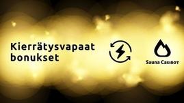 kierrätysvapaat bonukset saunacasinot.com