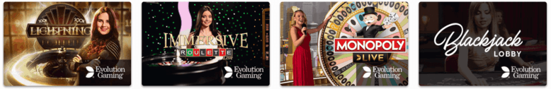 live casino fortune legends casinolla