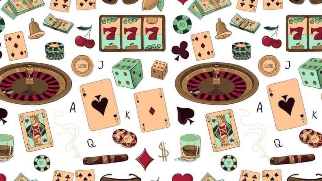 uudet nettikasinot 2020 - pelikortteja, rulettipyäriä, pelimerkkejä ja muuta