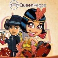 queenvegas casinon hahmot ja pelimerkkkejä