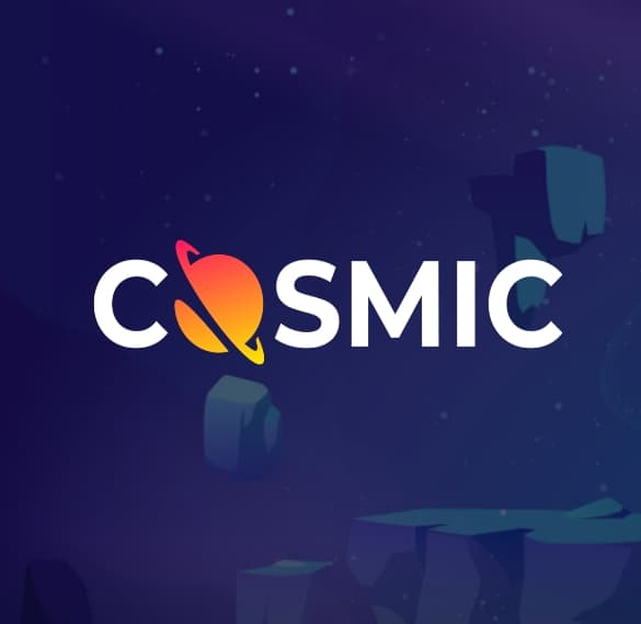 cosmic slot logo