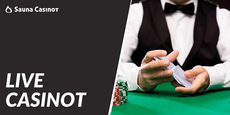 live casinot saunacasinot.com